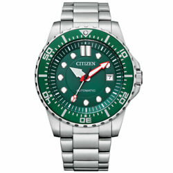 Citizen Menand039s Promaster Automatic Stainless Steel Watch - Nj0129-87x New