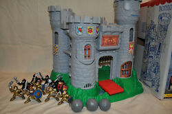 Fisher-price 1994 Great Adventures Castle Playset 77110 Plus Add-ons