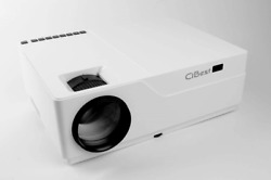 Cibest Native 1080p Led Video Projector 6800 Lux, 300 Inch Image Display, Ideal