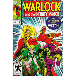 Warlock And The Infinity Watch 2 In Near Mint Condition. Marvel Comics [5y]