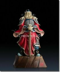 24and039and039 Superfine Brass Colored Drawing Folk Home Fengshui Buddha Zhong Kui Statue