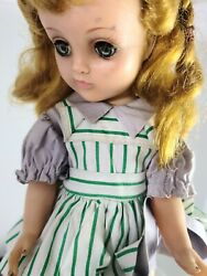 Vintage Antique Blond Doll Little Girland039s Toy 12 Rare