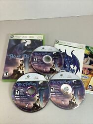 Blue Dragon Xbox 360 Cib Complete Manual Inc All 3 Discs Tested Works