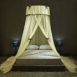 Luxury Lace Mosquito Net Bed Canopy Ultra Large for All Size Quick Installation