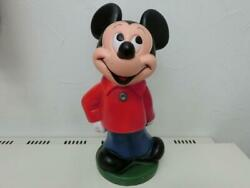 Vintage Mickey Mouse Coin Bank Figure Disney Mickymouse 9-318