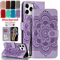 Leather Wallet Case For Apple Iphone 13 Pro Max 13mini Magnetic Flip Stand Cover