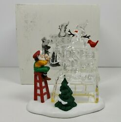 Department 56 Heritage Village Series And039a Busy Elfand039 Accessory 56366