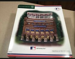 Old Comiskey Park Christmas In The City Dept 56 Chicago White Sox Box Mlb