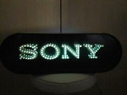 Sony Sony Light Lighting Vintage Neon Sign From Japan Rare