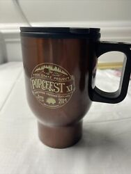 Free State Project Porcfest Xi Insulated Coffee Mug Cooler Beer New Used