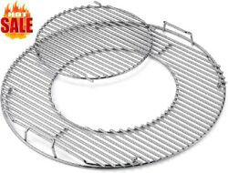 Hinged Cooking Grate 12 In Removable Wire Insert Bbq Grill Cookware Accessory...