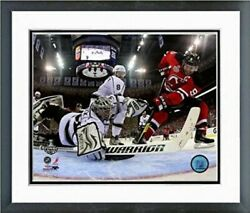 Jonathan Quick La Kings 2012 Stanley Cup Action Photo 12.5 X 15.5 Framed