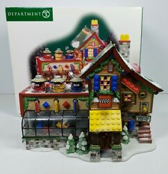 Department 56 North Pole Series 'lego Building Creation Station' 56.56735 2001