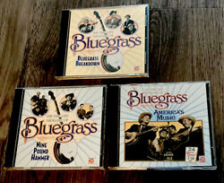 3 The Time Life Treasury Of Bluegrass Nine Pound Hammer Americas Music Cd Frsp