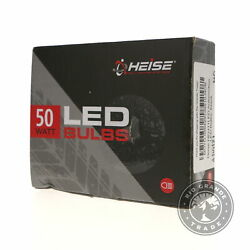 Open Box Heise Heh11led Automotive Fully Equipped Led Bulbs In Black - 50w