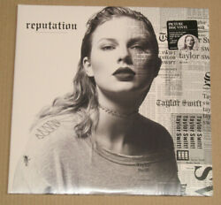 Taylor Swift-reputation-picture Disc Big Machine Records Bmrco0600f-2 Lp