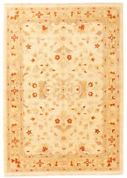 Vintage Hand-knotted Carpet 5and0398 X 8and0392 Traditional Oriental Wool Area Rug