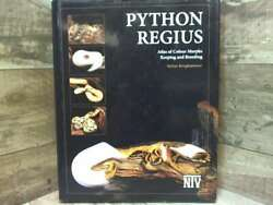Python Regius - Atlas Of Color Morphs, Keeping And Breeding Ball Pythons. By S