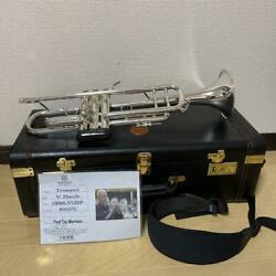 Vincent Bach Trumpet 180ml37gbsp With Mouthpiece X4 And Case And Care Kit And Tuner