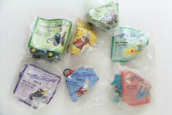Mcdonalds Mac Tonight Complete 7 Pc Set 1988 Sealed Happy Meal Toy Vintage