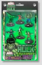 Marvel Heroclix Miniatures Incredible Hulk Fast Forces 6-pack