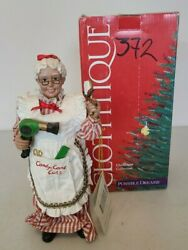 2000 Possible Dreams Candy Cane Cuts Clothique Mrs.claus Stylist Barber 713362