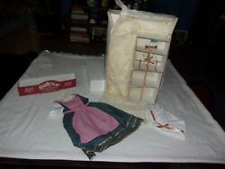 American Girl Felicity 1997 Limited Edition Town Fair Outfit And Windmill In Box