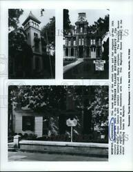 Press Photo Some Of Tennesseeand039s Oldest Homes In Victorian Village Historic Dist.