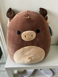 Squishmallow Maurice 16 Moose Canadian Exclusive Hard To Find
