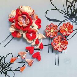 Color Order Is Accepted Flower Hairpin Tradition Knob Work Hair Ornament