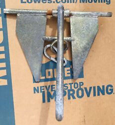 Two Boat Anchors And Marine Rope