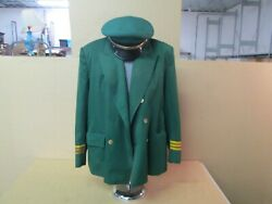 Original Hand Tailored Budweiser Clydesdale Hitch Team Uniform Jacket And Hat.