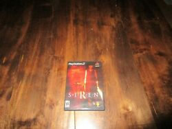 Siren Ps2 With French Manual