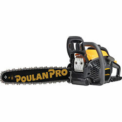 Poulan Pro Chainsaw - 20in. Bar, 50cc, 3/8in. Pitch, Model Pr5020