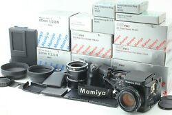 【almost Unused In Box】mamiya 645 Pro Camera + 80mm 55mm + Other From Japan 0195