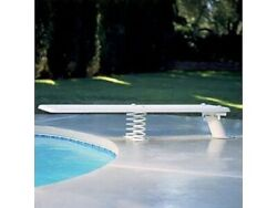 Inter-fab Baja 8' Diving Board And Spring White In-ground Pools Discontinued