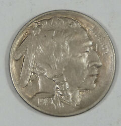1913-s Ty-2 Buffalo Nickel Extra Fine/almost Uncirculated 5-cents