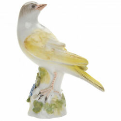 Antique Porcelain Figurine Canary Bird Meissen Germany Middle Of 18th Century
