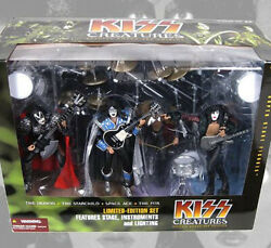 Kiss Creatures Special Boxed Set Edition Action Figure Imported