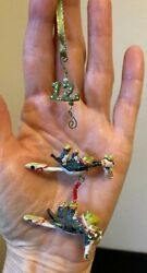 Mini Krinkles Patience Brewster 12 Days of Christmas 12 Lords Leaping Ornament