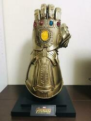 Hot Toys Iron Man Infinity Gauntlet Live Size Actual Size Used Mint