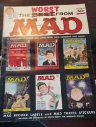 The Worst From Mad Including Mad Travel Stickers Sept 1956-1957