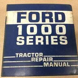 Ford New Holland 1300-1500 1700-1900 Tractor Service Shop Repair Manual Se3771