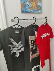 ZOO YORK T SHIRTS SMALL LOT OF 3 NEW W TAGS BACK TO SCHOOL SPECIAL