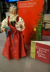 1993 Mrs. Claus Figurine By Possible Dreams