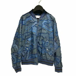Christian Dior Bomber Jacket 20aw Camouflage Pattern 017c14a2960 34 Navy Blouson
