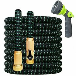 Garden Curly Water Hose With Brass Connectors Watering Hose Garden Coil Hose