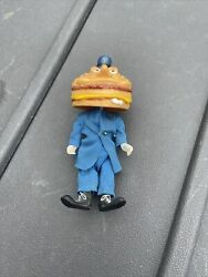 Collectible Vintage Remco Mcdonald's Land Officer Big Mac 8 Figure 1976 Doll