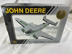 Speccast 1997 John Deere Diecast Twin Beech18 Extremely Rare Mint Eaa 1 0f 500andnbsp