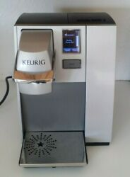 Keurig K155 Officepro Commercial Coffee Maker Single Kcup Silver Office Pro 90oz